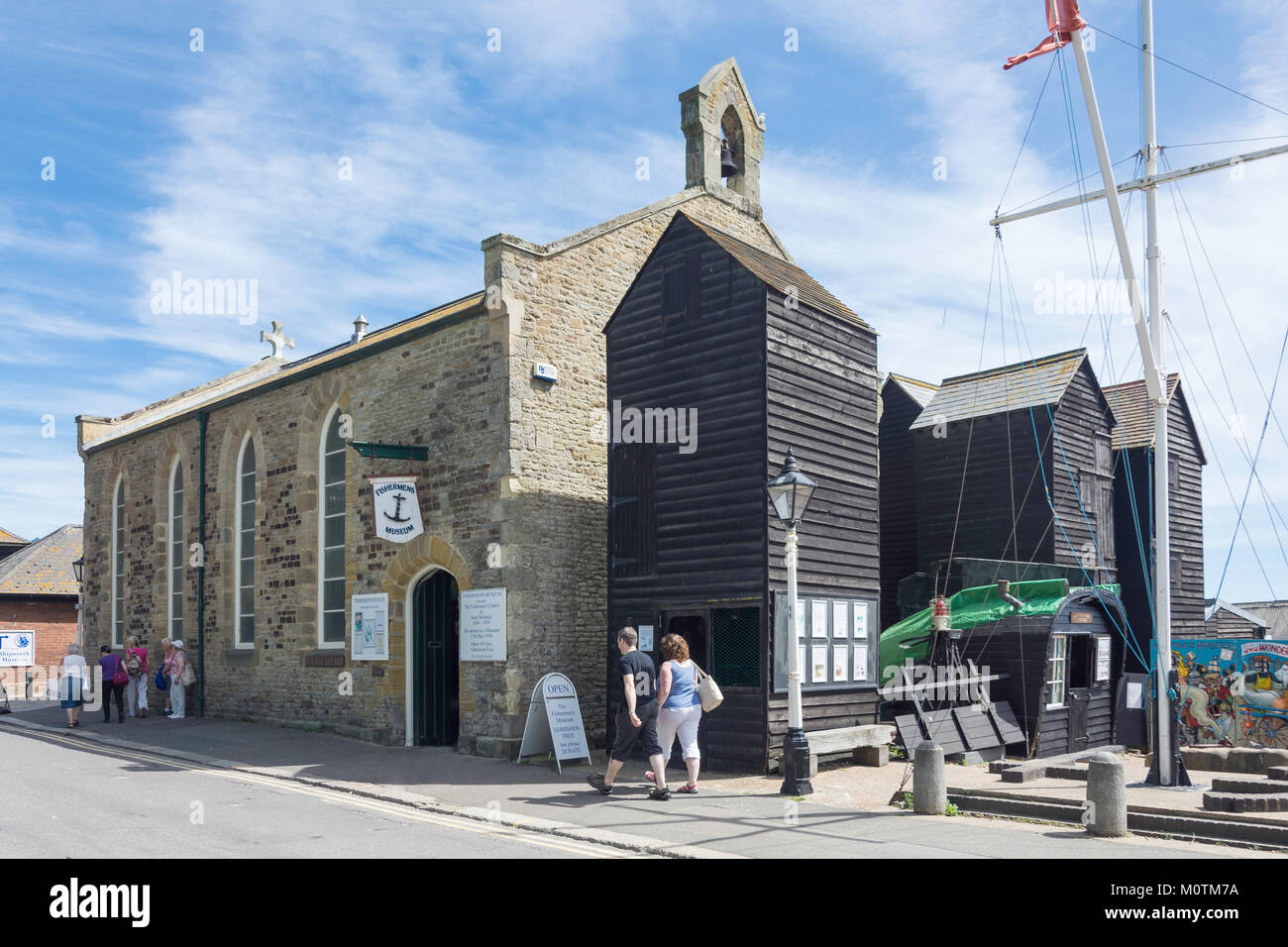 Fisherman's Museum, Rock-A-Nore Road, Hastings, East Sussex, England, United Kingdom - Stock Image