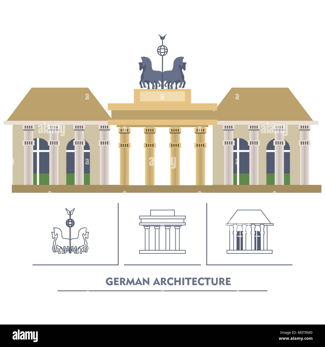 germany design concept - Stock Image