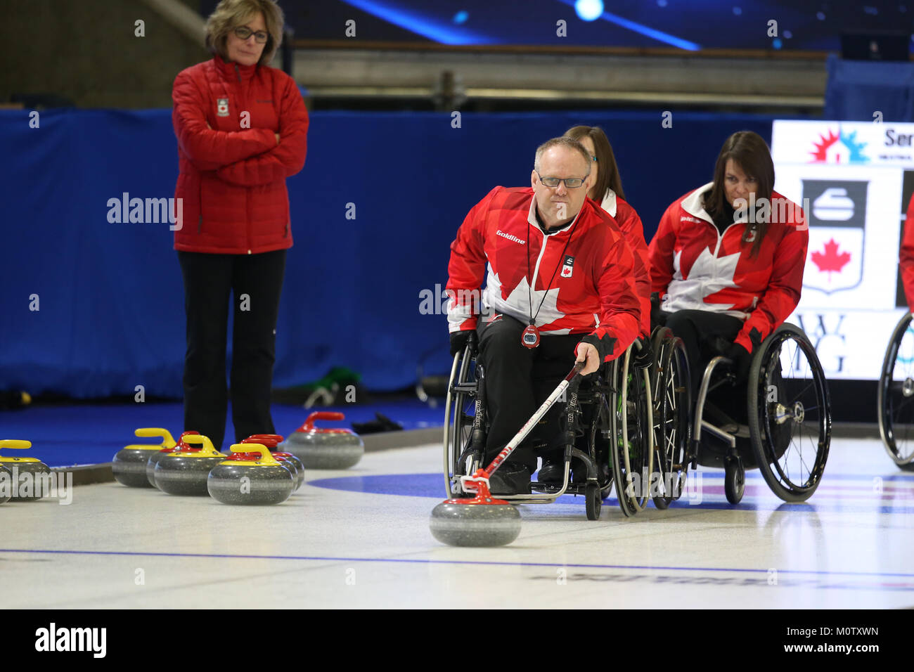 Curling Broom Stock Photos & Curling Broom Stock Images - Alamy