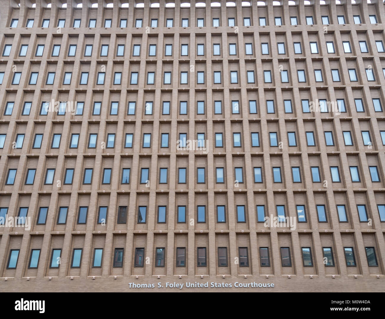United States Courthouse in Spokane WA Stock Photo