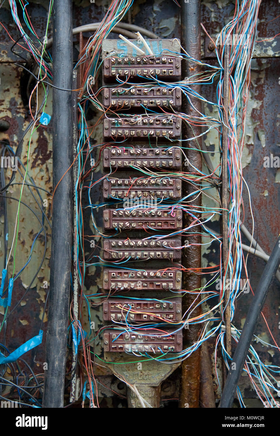 Old Telephone Wiring
