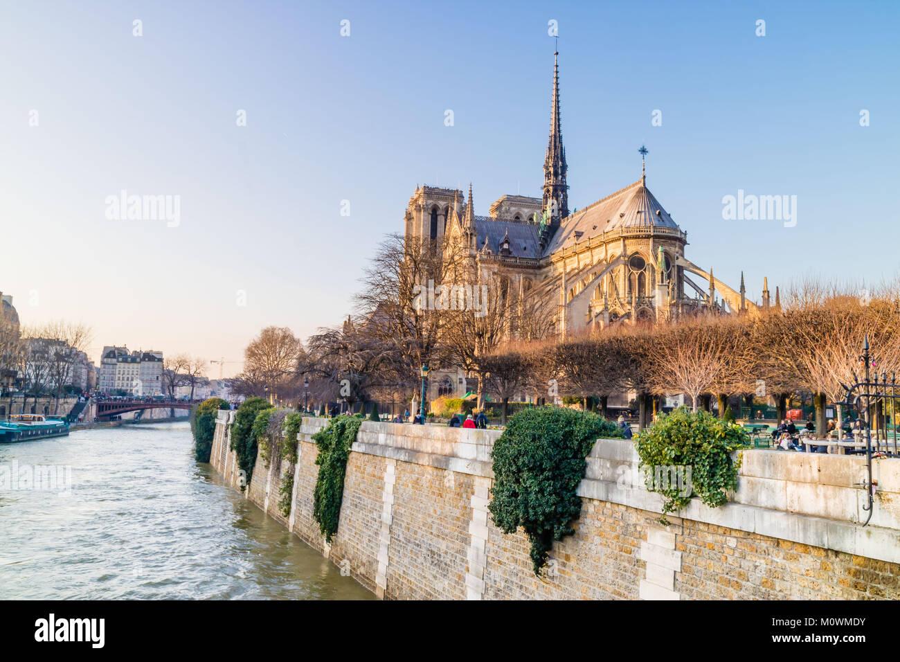 Notre Dame de Paris, France Stock Photo