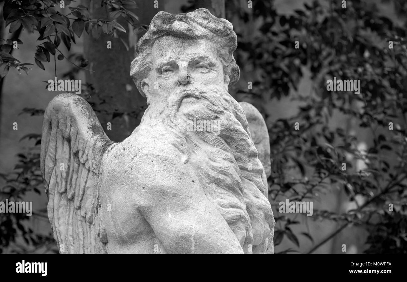Gardens of Glenveagh, Sculpure. - Stock Image