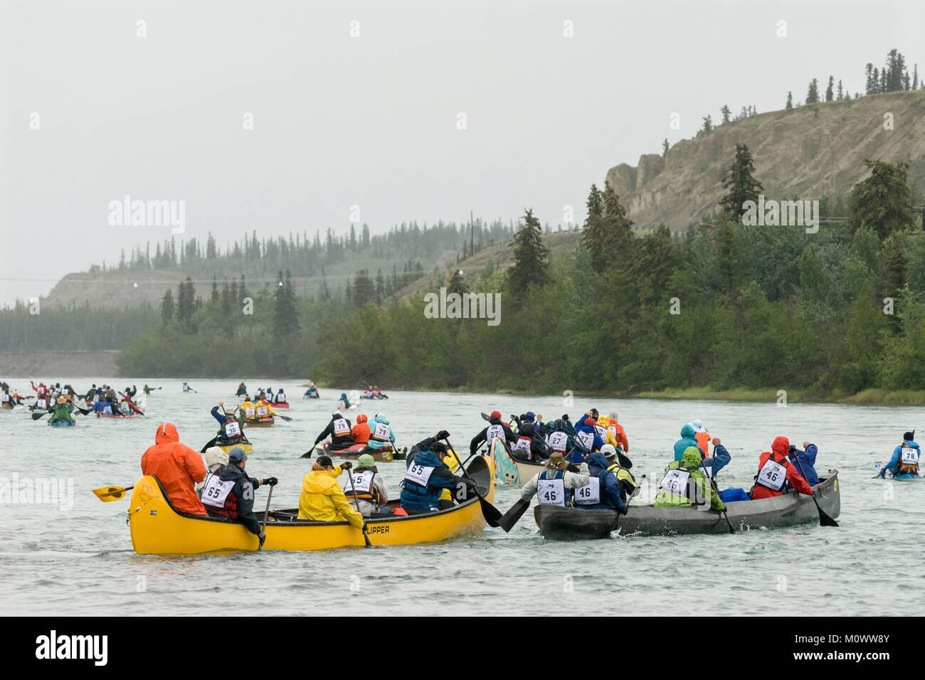 Canada,Yukon Territory,Whitehorse,Start of the Yukon River