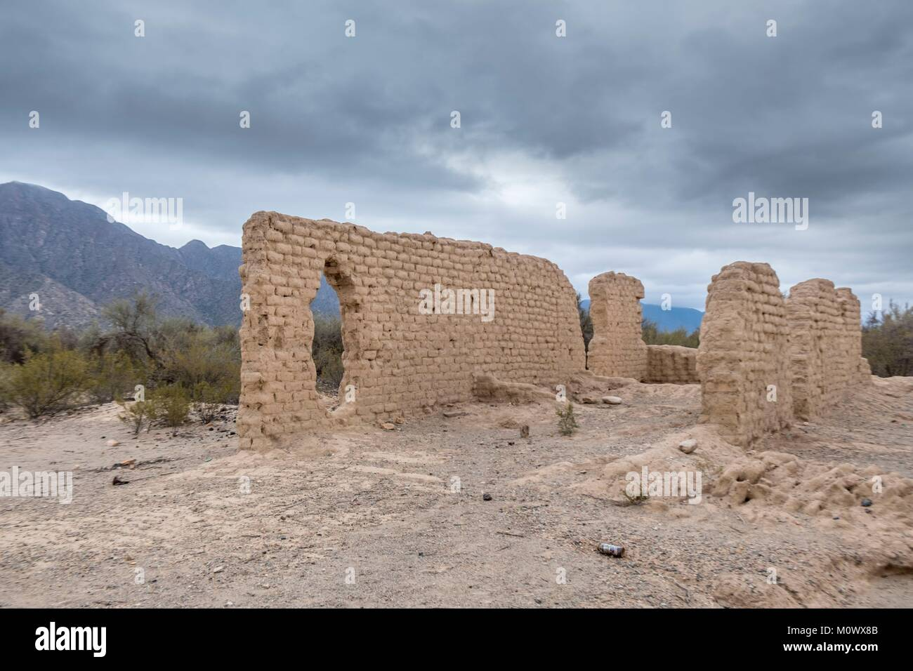 Argentine,Rioja Province,Famatina,Capayan ruins - Stock Image
