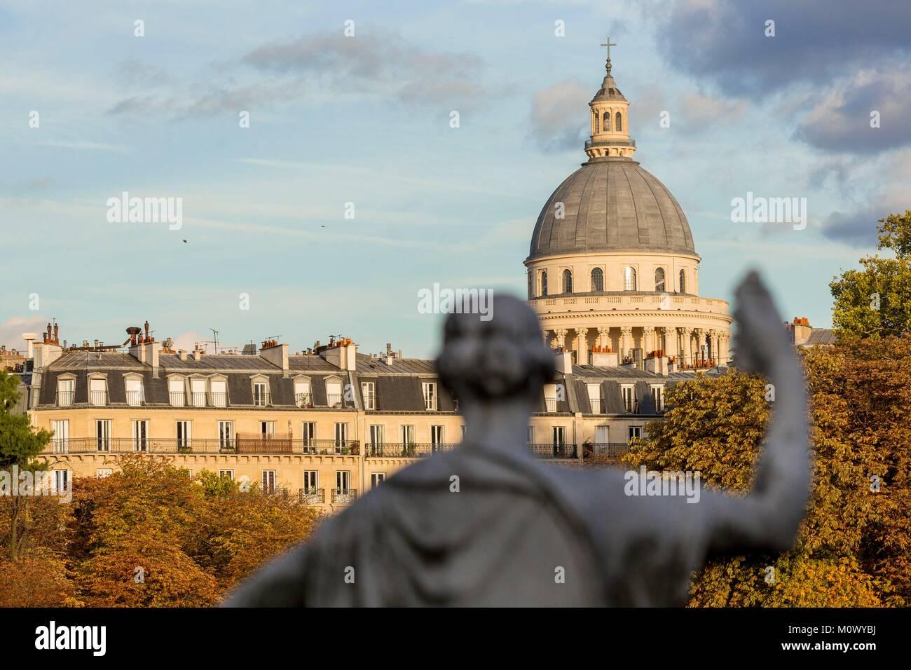 France,Paris,Luxembourg Garden - Stock Image