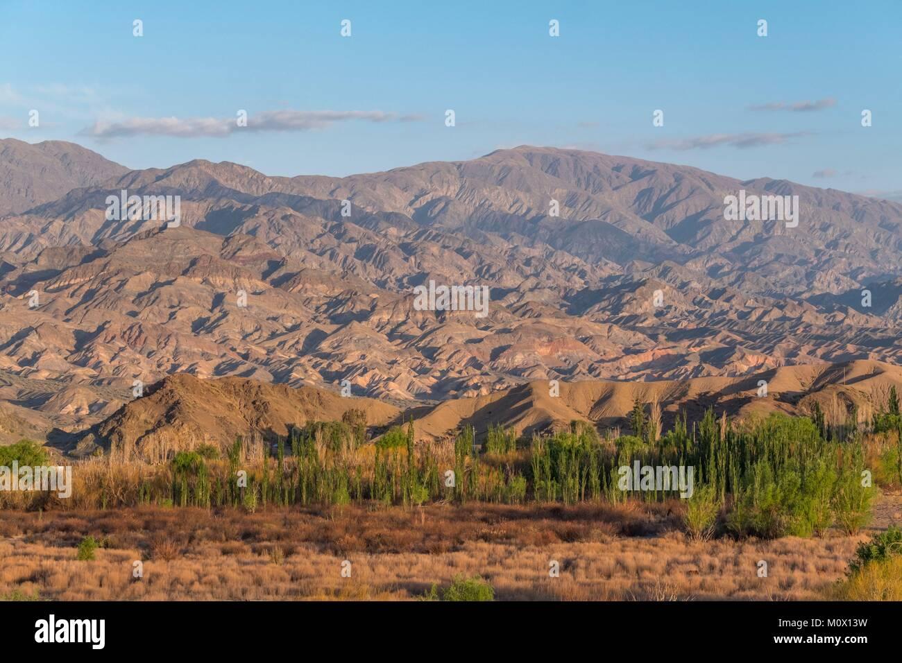 Argentina,San Juan province,Cerro Negro de La Alumbrera,Calingasta - Stock Image