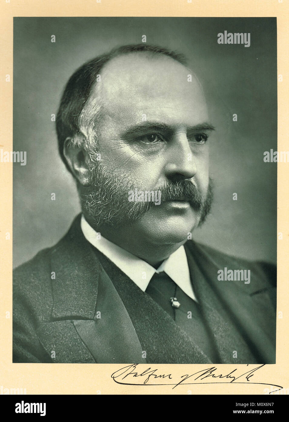 Alexander Bruce, 6th Lord Balfour of Burleigh, 1849-1921 - Stock Image