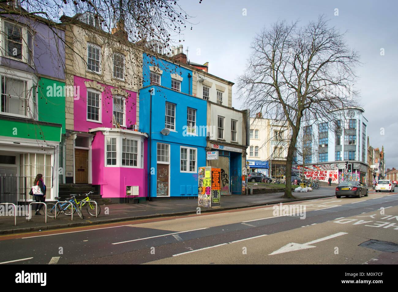 Stokes Croft, Bristol,UK - Stock Image