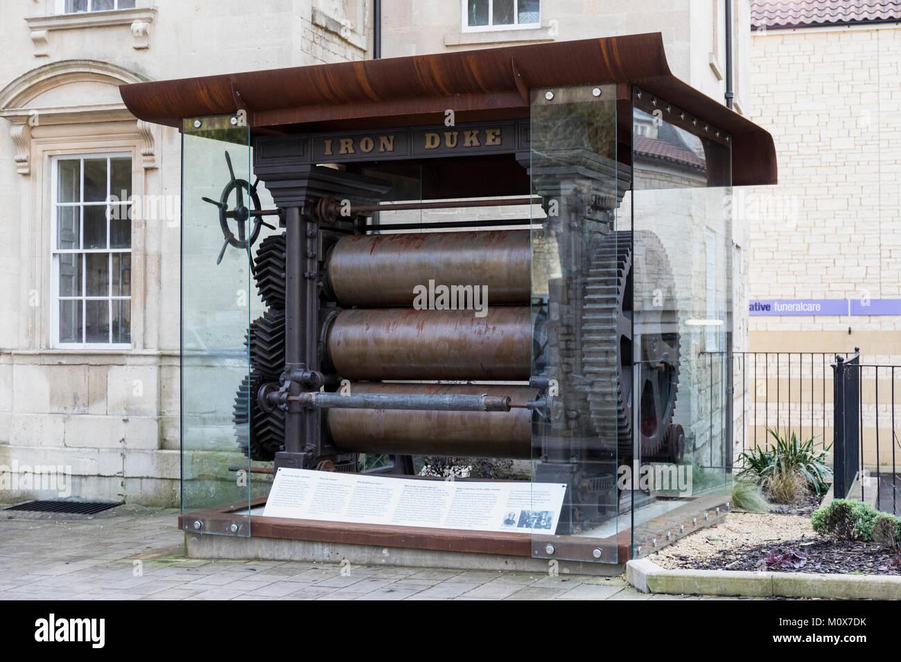 Iron Duke, Bradford on Avon, Wiltshire, England - Stock Image