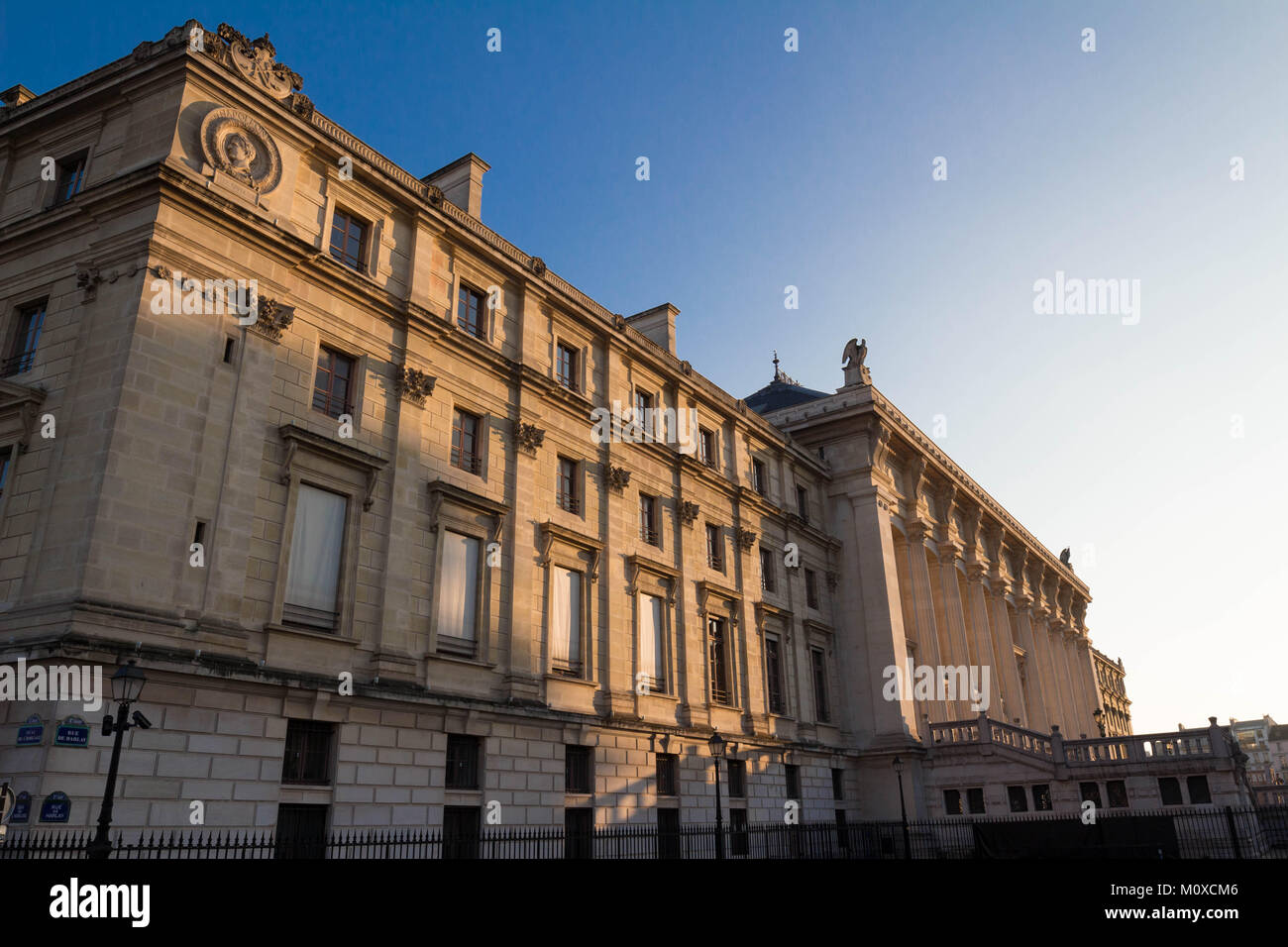 The Justice palace, Paris, France. - Stock Image