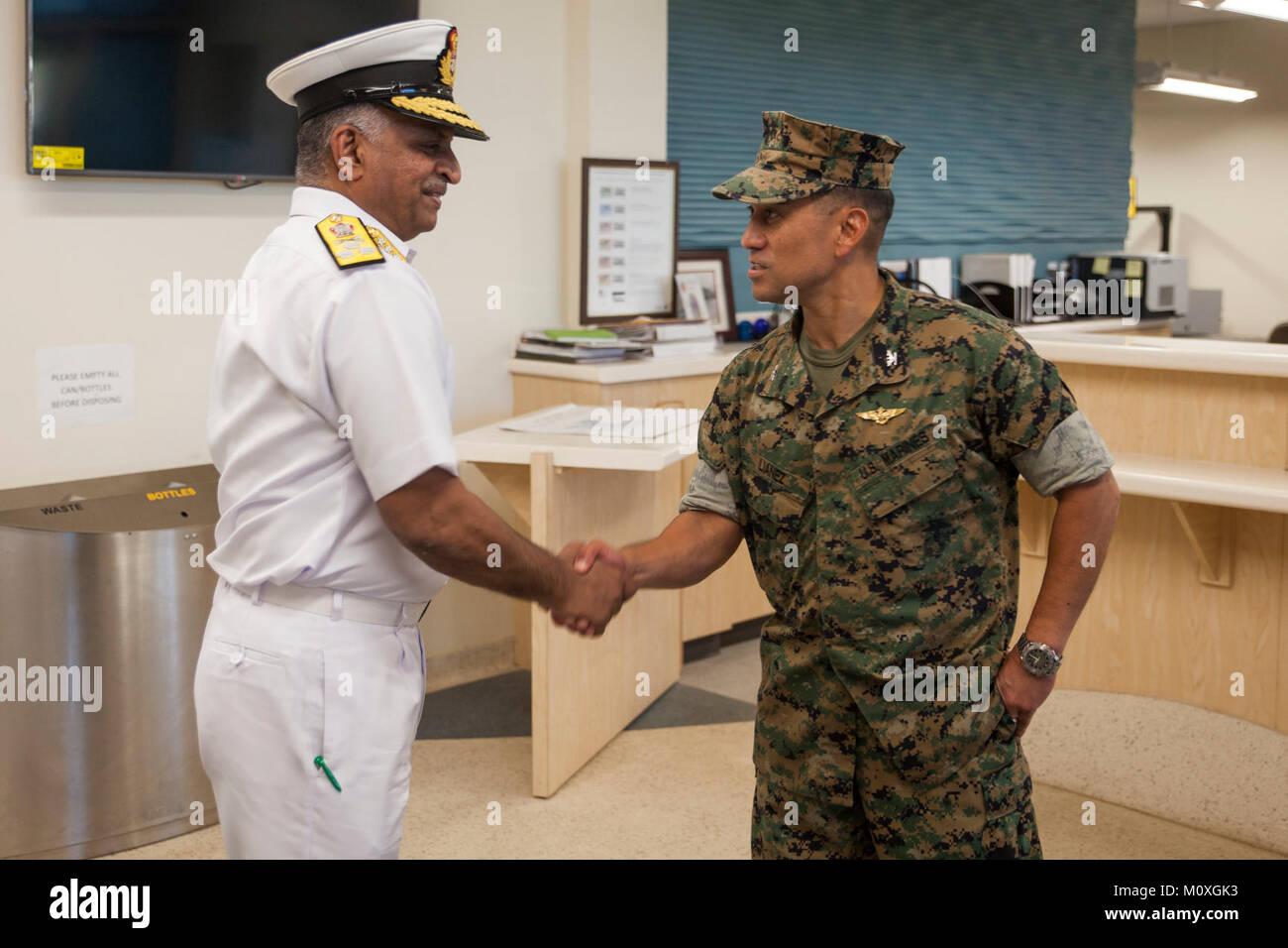 Vice Adm  G  Ashok Kumar, the Deputy Chief of Navy Staff for