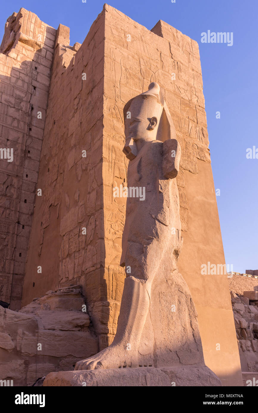 Luxor and  Karnak - Stock Image