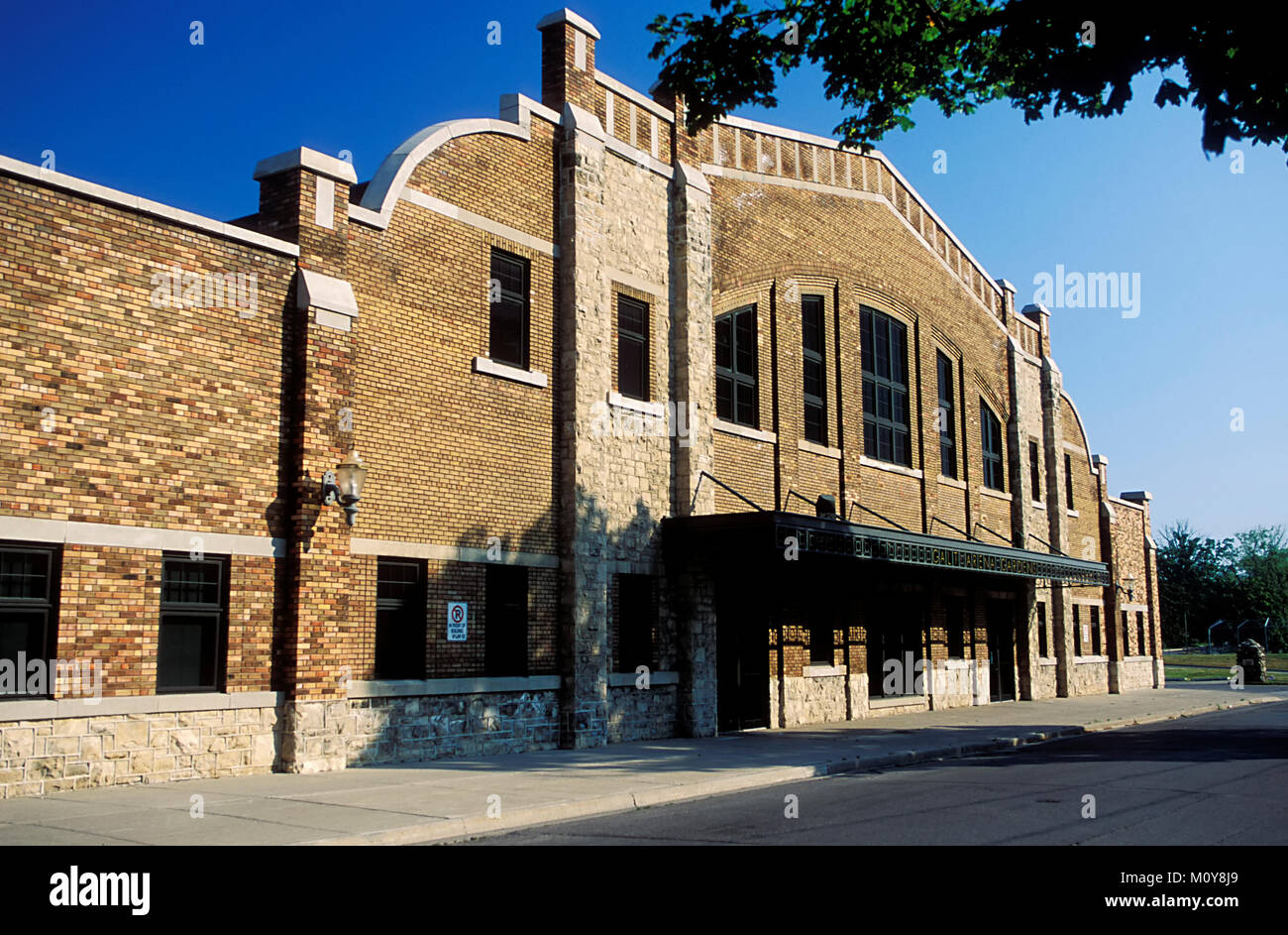 The Galt Arena Gardens ice hockey arena. Cambridge (Galt) Ontario Canada. - Stock Image