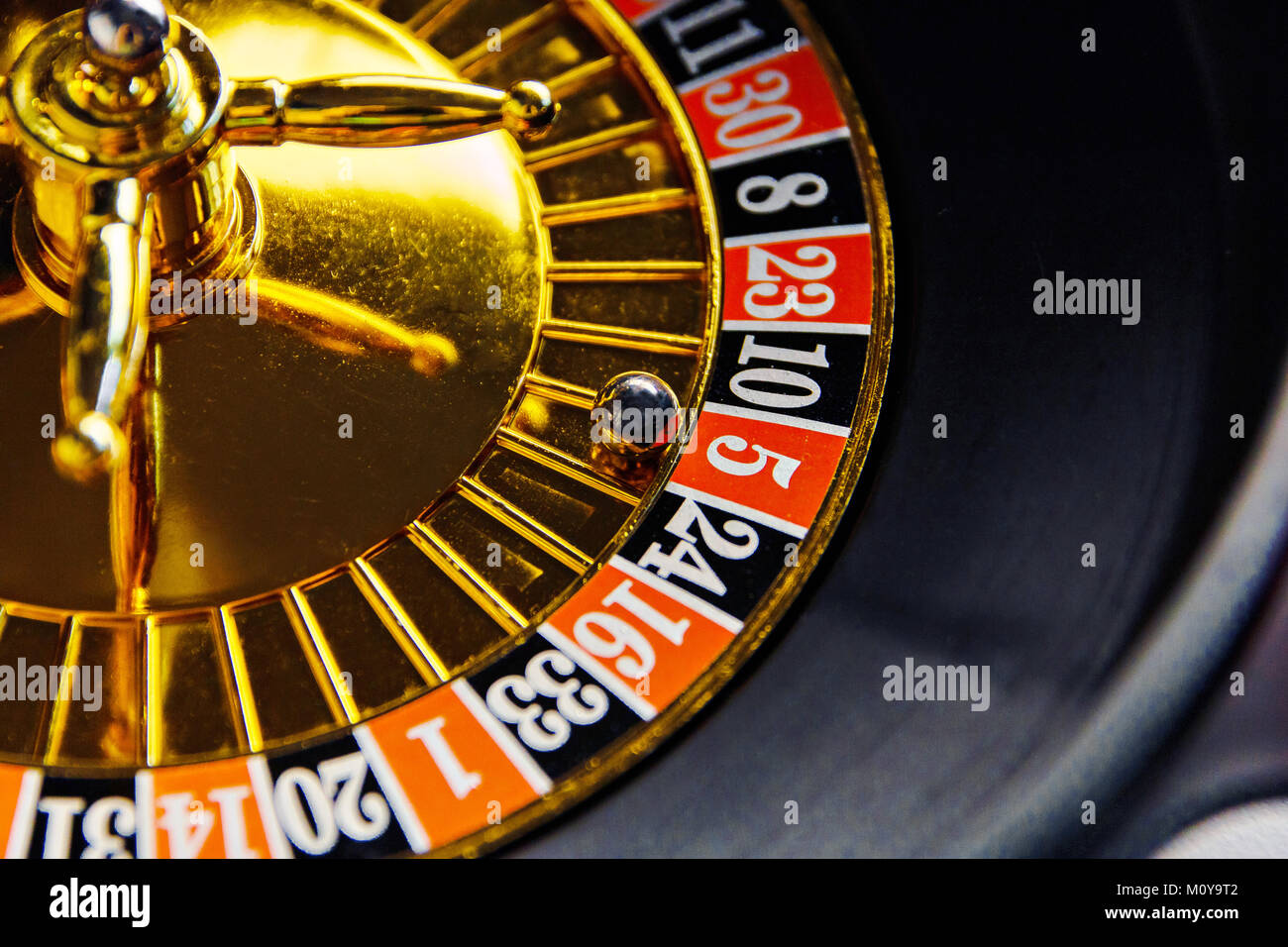 drunk roulette .play for a big company. - Stock Image