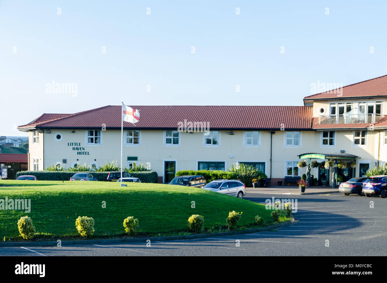 The 'Little Haven Hotel', River Drive, South Shields - Stock Image