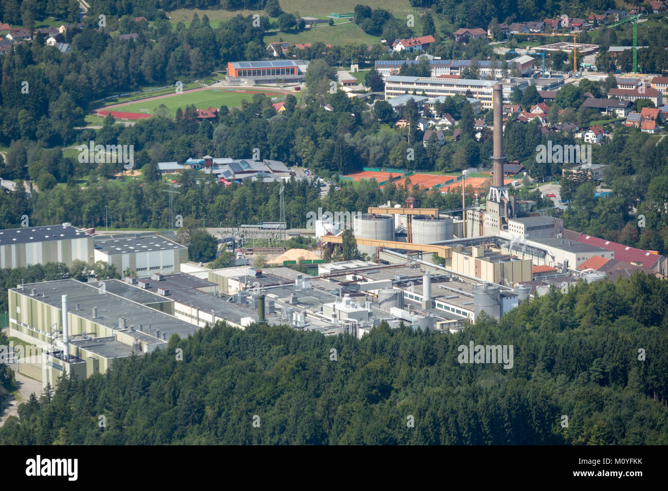 Industrial estate aerial stock photos industrial estate for Depot schongau