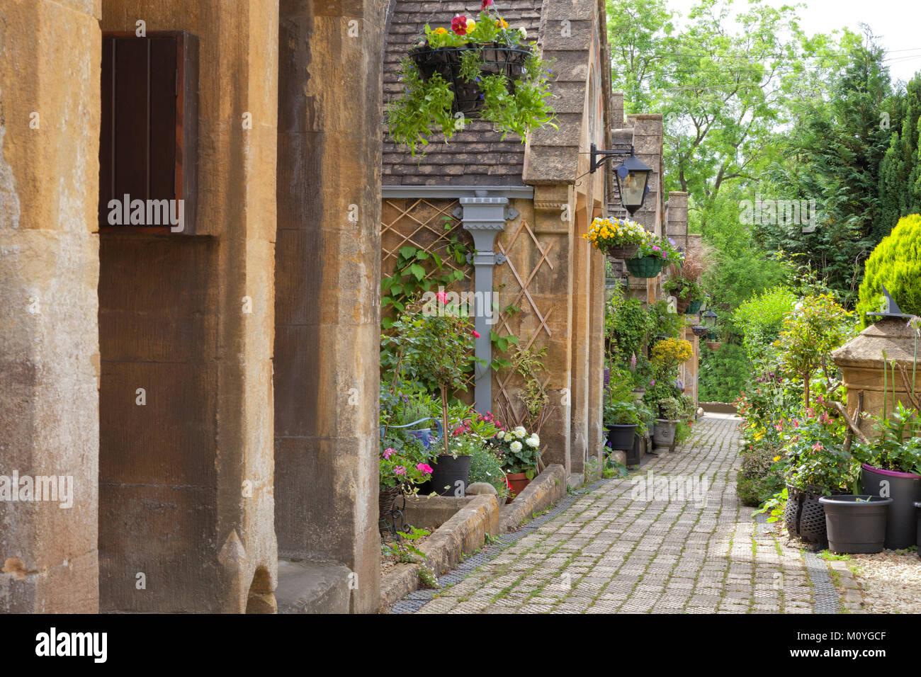 Colourful Plant Pots Garden Stock Photos & Colourful Plant Pots ...