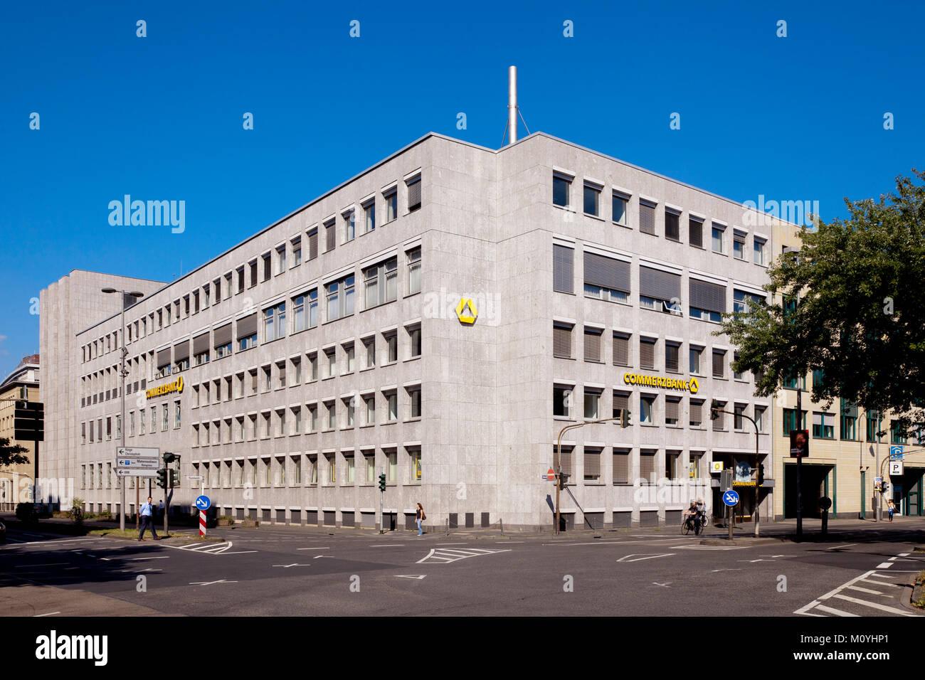 Germany, Cologne, the Commerzbank in the financial district.  Deutschland, Koeln, die Commerzbank im Bankenviertel. - Stock Image