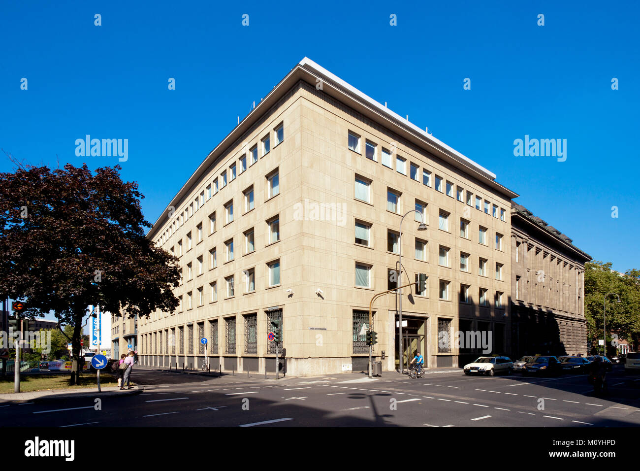 Germany, Cologne, the asset management bank Sal. Oppenheim in the financial district.   Deutschland, Koeln, das - Stock Image