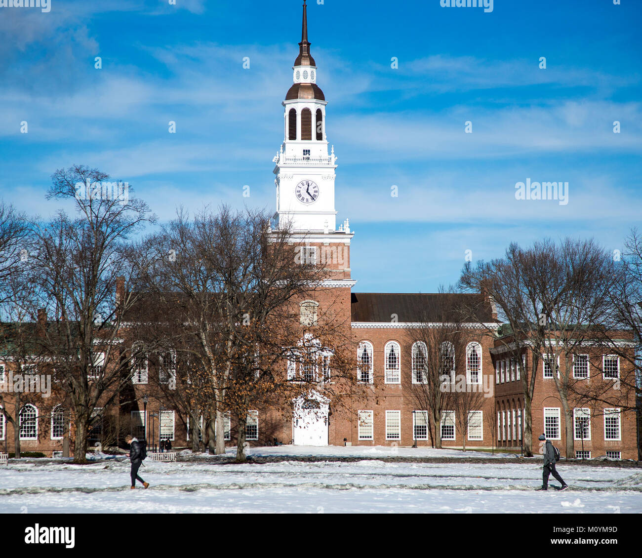 Baker Berry Library on the campus of Dartmouth College Stock Photo