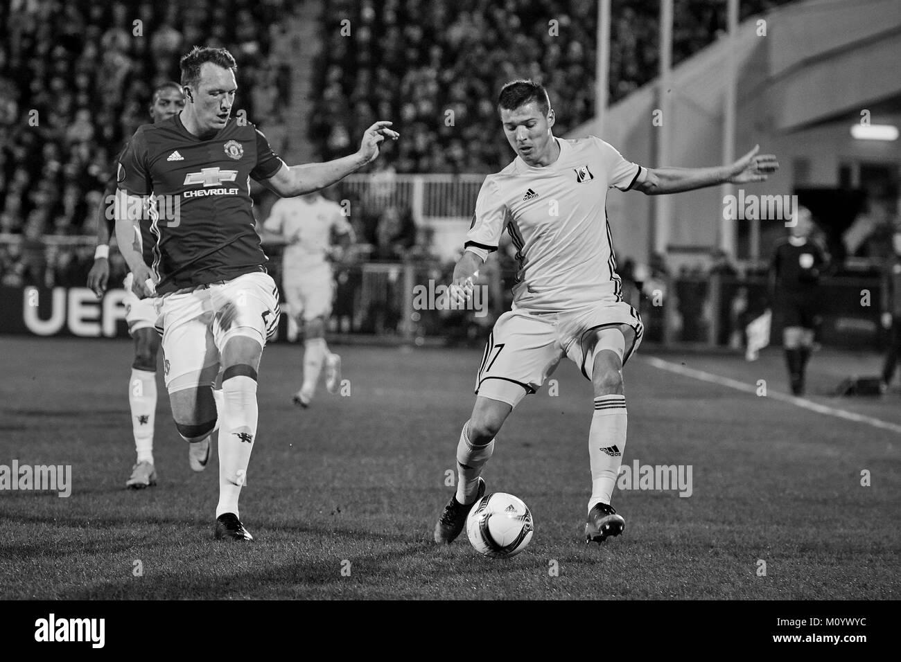 United stalls mot rostov i europa league