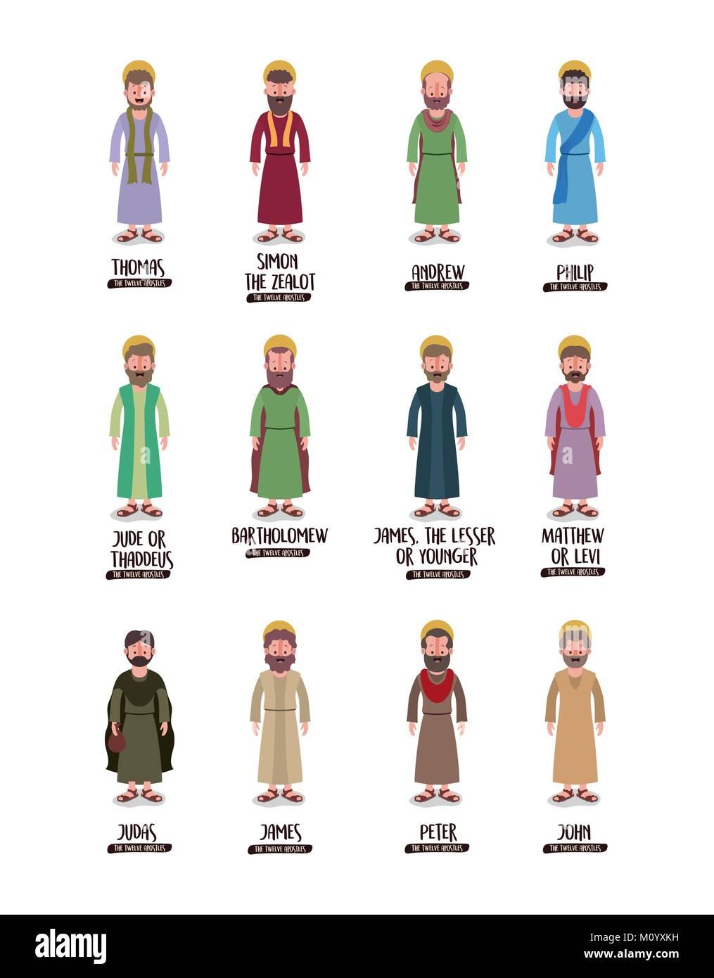 The 12 Best Fall 2016 Trends From New York Fashion Week: Twelve Apostles Jesus Stock Photos & Twelve Apostles Jesus