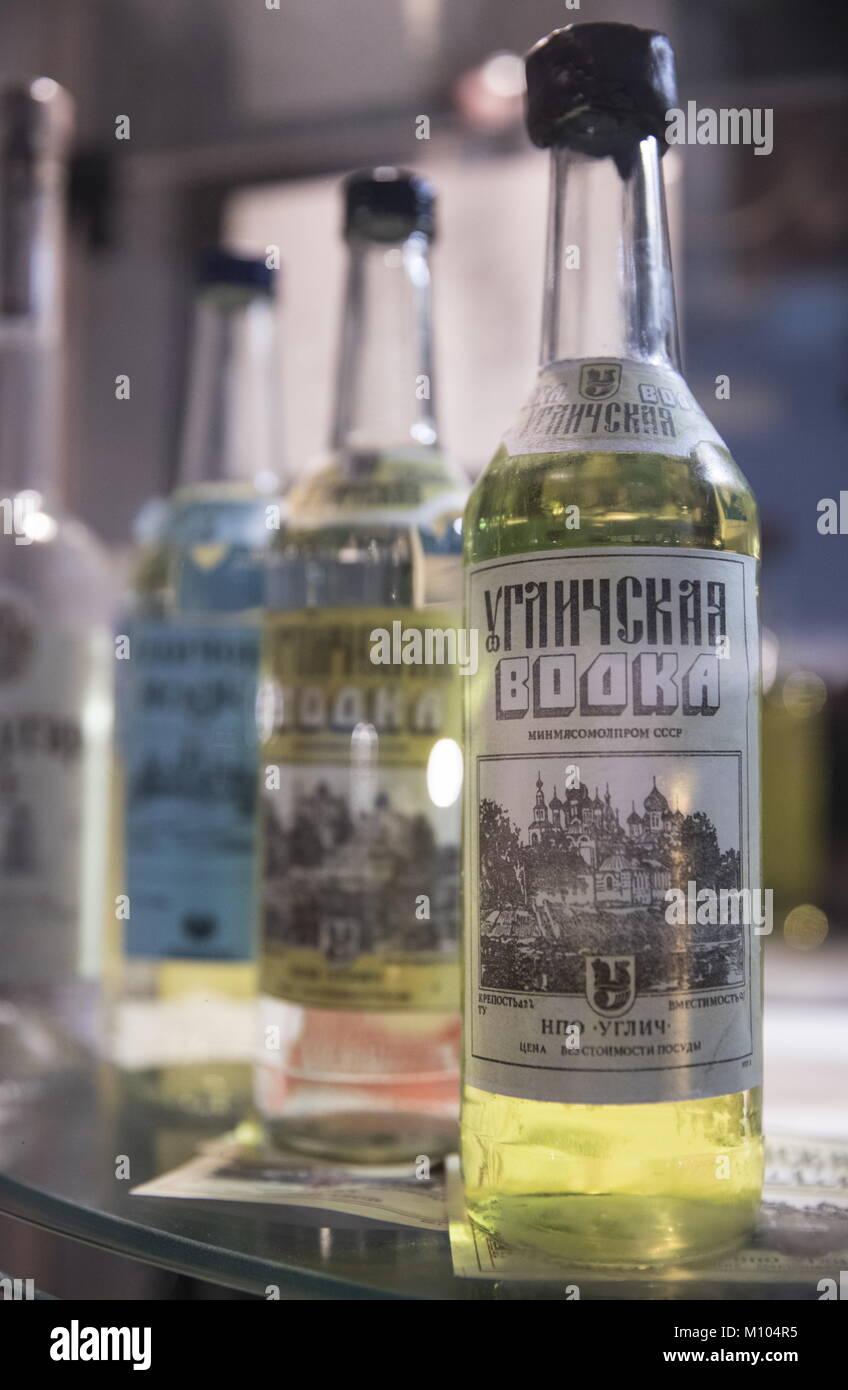 January 31 - Birthday of Russian vodka