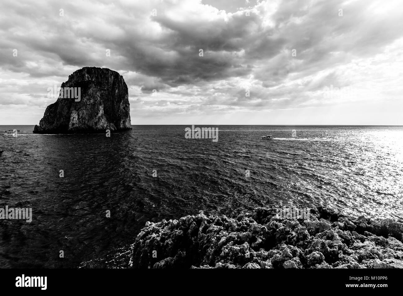 788c523621f4b Capri Black and White Stock Photos   Images - Alamy
