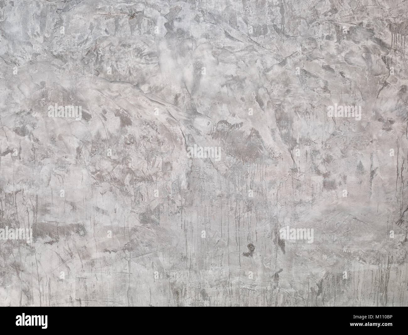 Polished concrete wall ,Unique and realistic non repeating concrete wallpapers - Stock Image