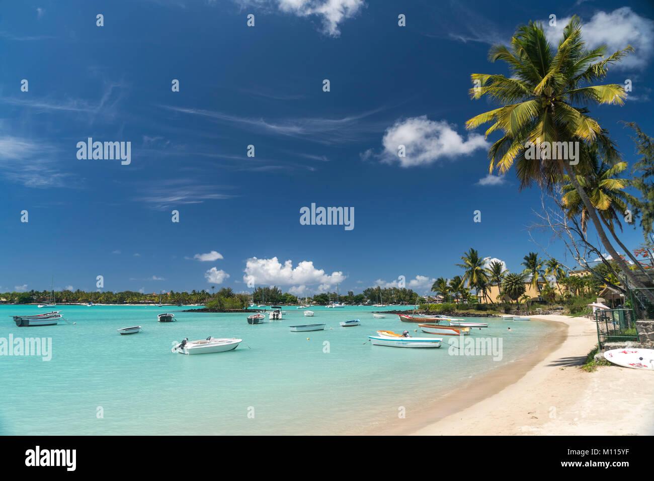 Grand Baie Mauritius Stock Photos & Grand Baie Mauritius