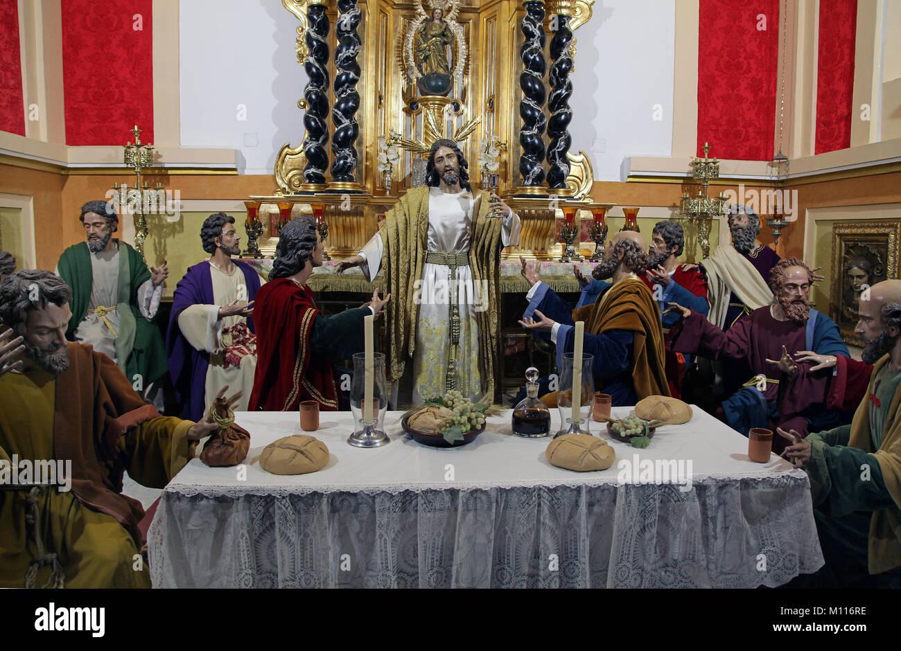 Church of the Martyrs Malaga - Stock Image