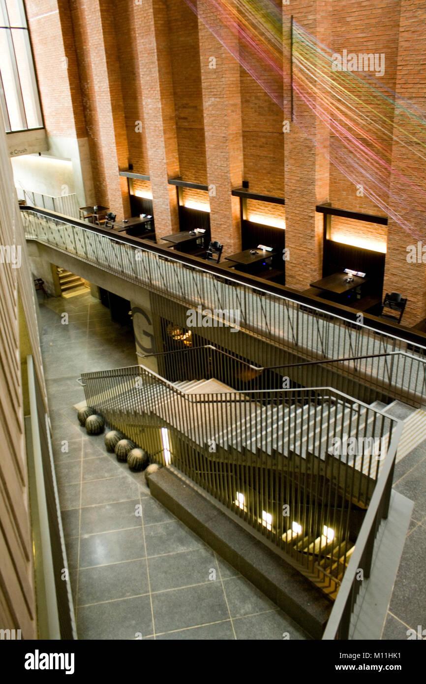 MAC Metropolitan Arts Centre Belfast - Stock Image