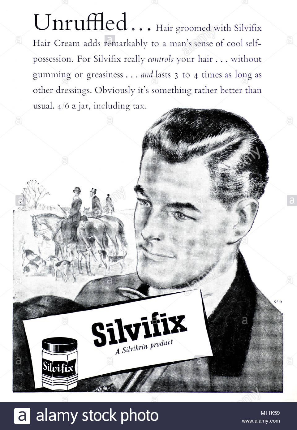 Image result for silvikrin for men 1955