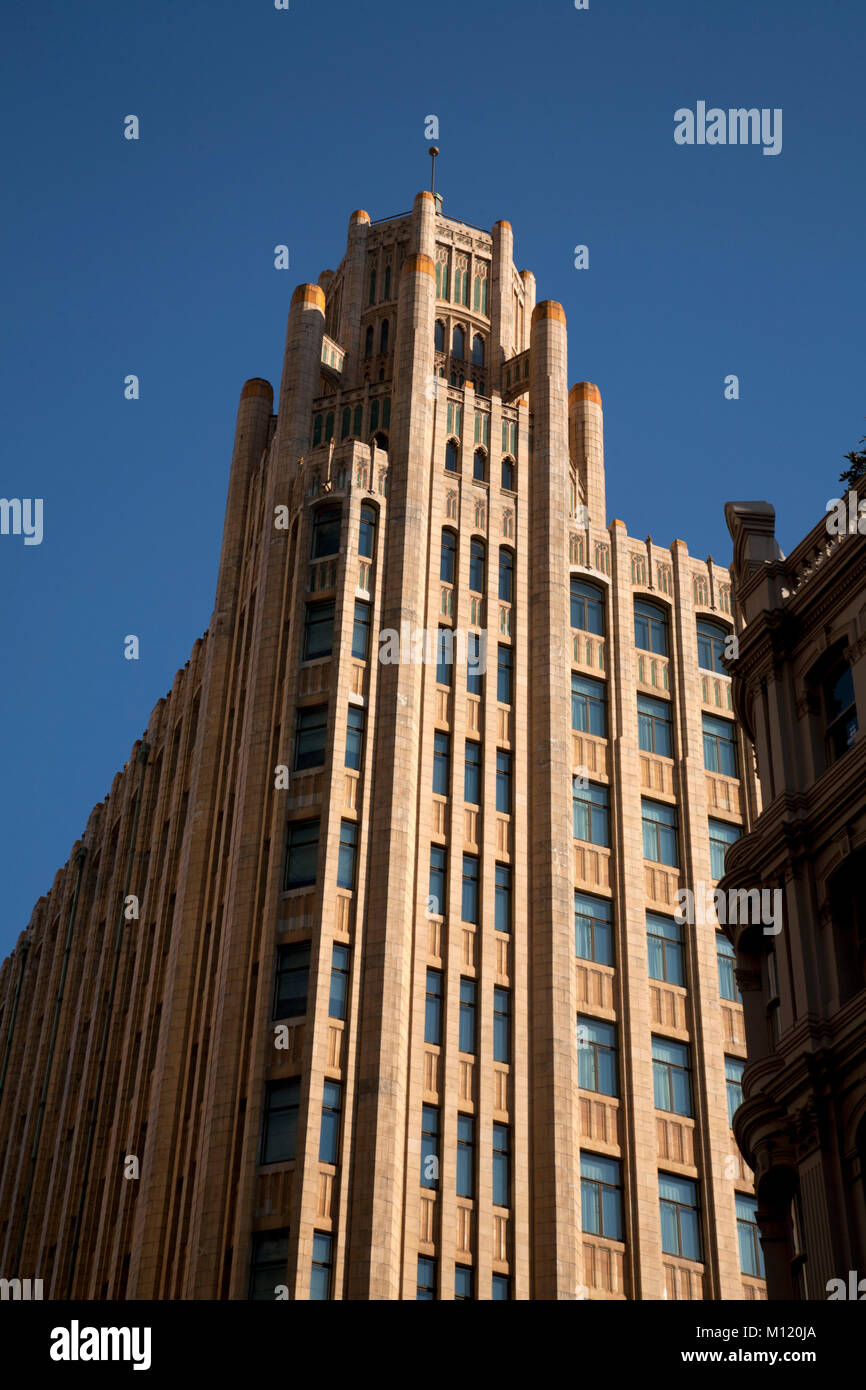 grace building york street central business ditrict sydney new south wales australia - Stock Image