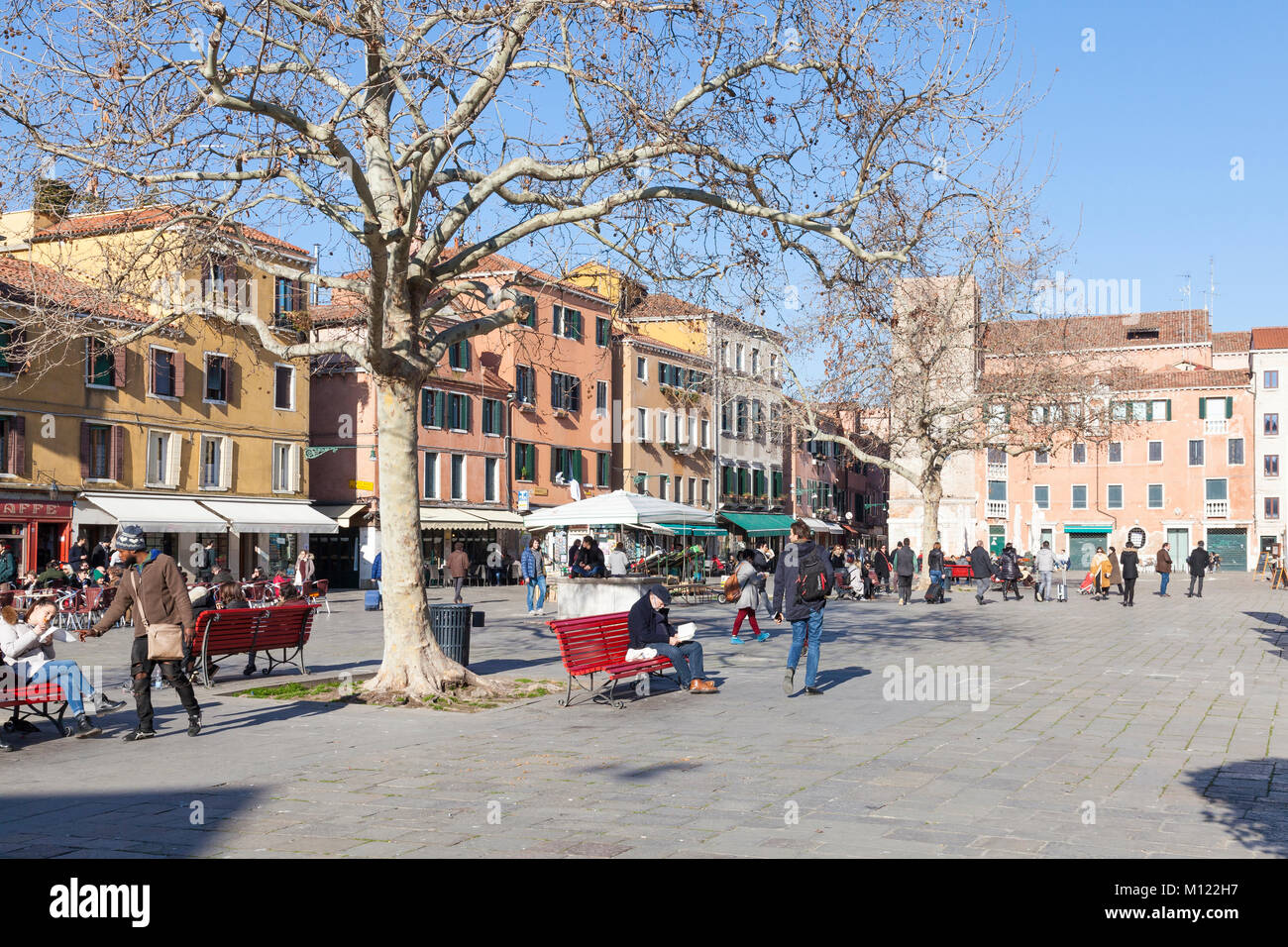 Page 2 Campo Santa Margherita High Resolution Stock Photography And Images Alamy