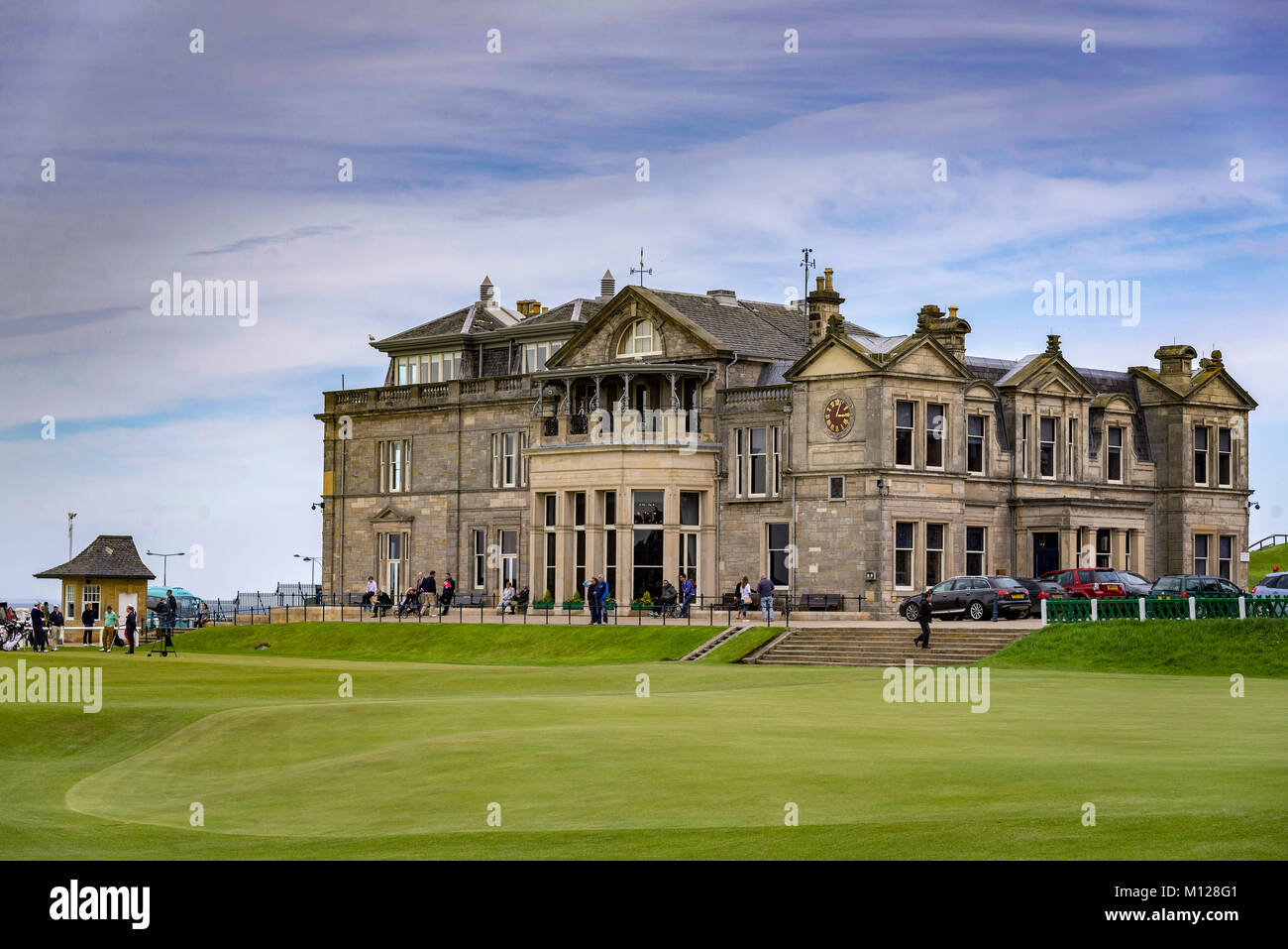 St Andrews clubhouse. - Stock Image