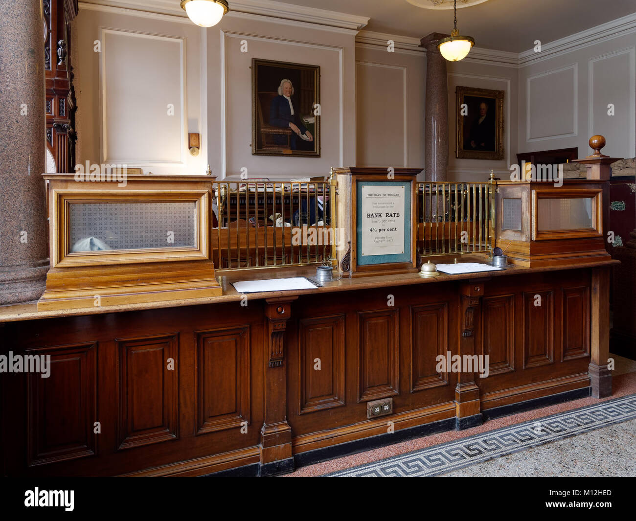 Old Bank Counter Stock Photos Old Bank Counter Stock Images Alamy