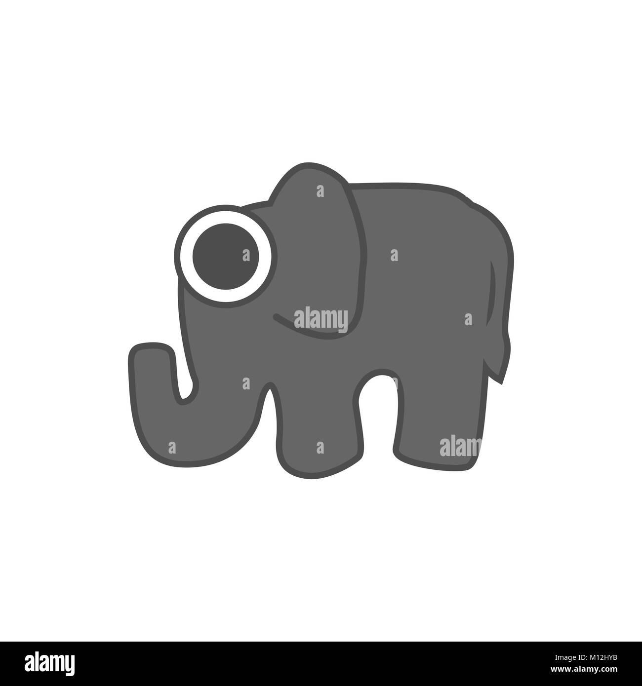Elephant Vector Stock Photos & Elephant Vector Stock Images - Alamy