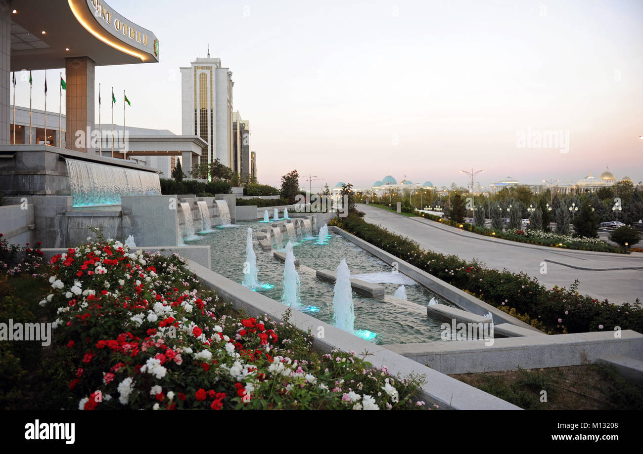 Turkmen stock photos turkmen stock images alamy view of the ashgabat the capital of the turkmenistan stock image publicscrutiny