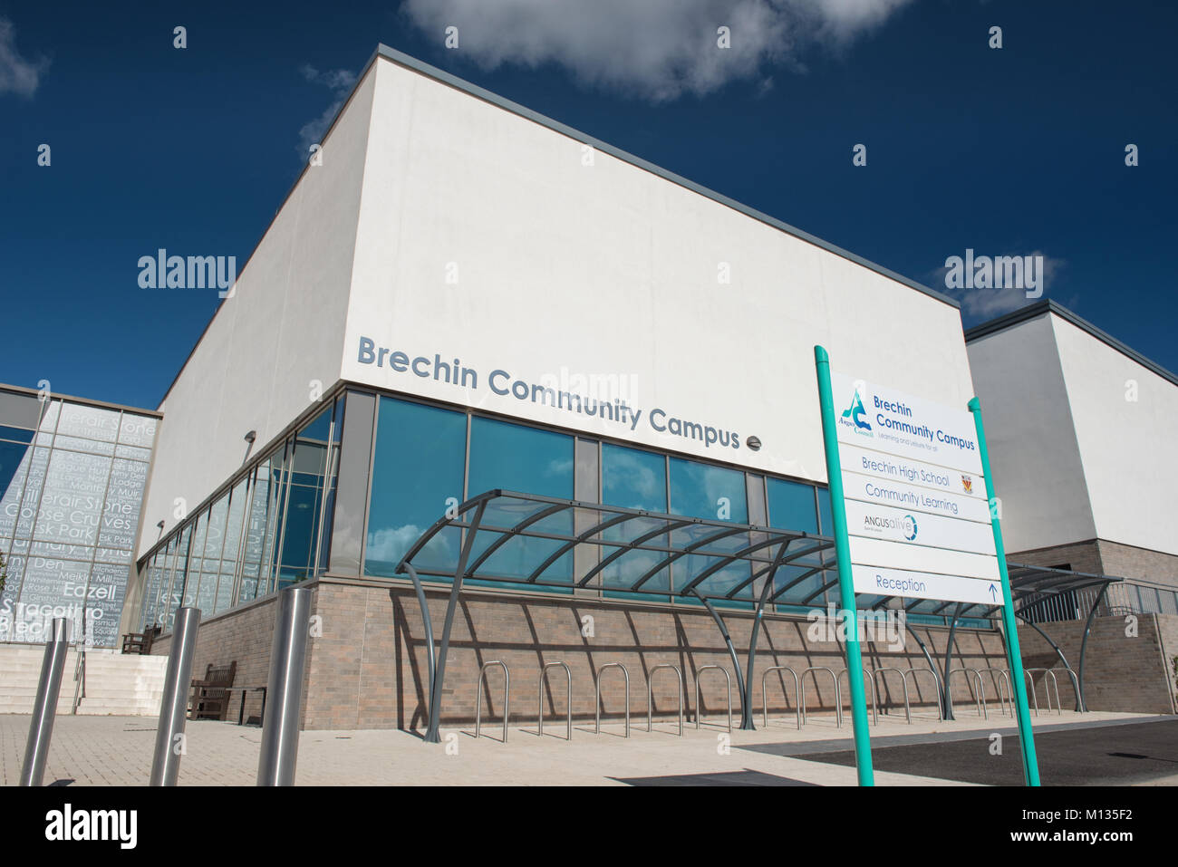 Brechin Community Campus - Stock Image