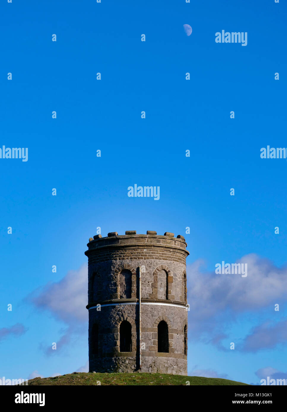 Solomon's Temple, Buxton. 26th Jan, 2018. UK Weather: bright blue skys over Solomon's Temple Buxton Derbyshire, - Stock Image