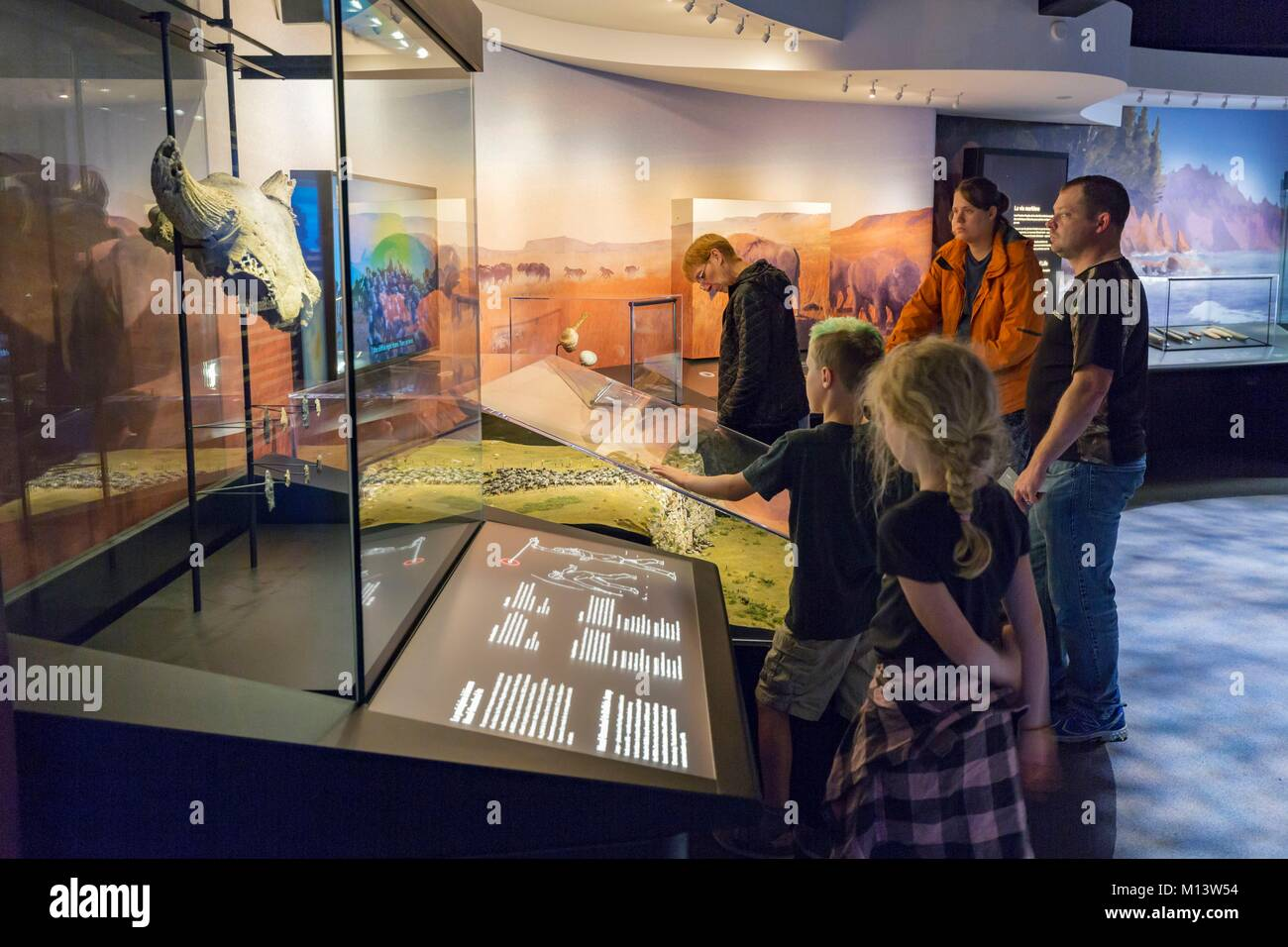 Canada, Province of Quebec, Outaouais, City of Gatineau, Canadian Museum of History, new galleries dedicated to - Stock Image