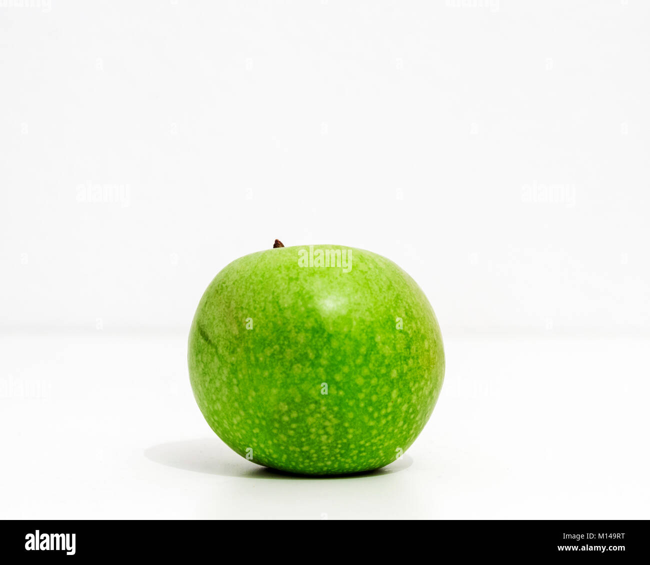 Granny Smith apple - Stock Image