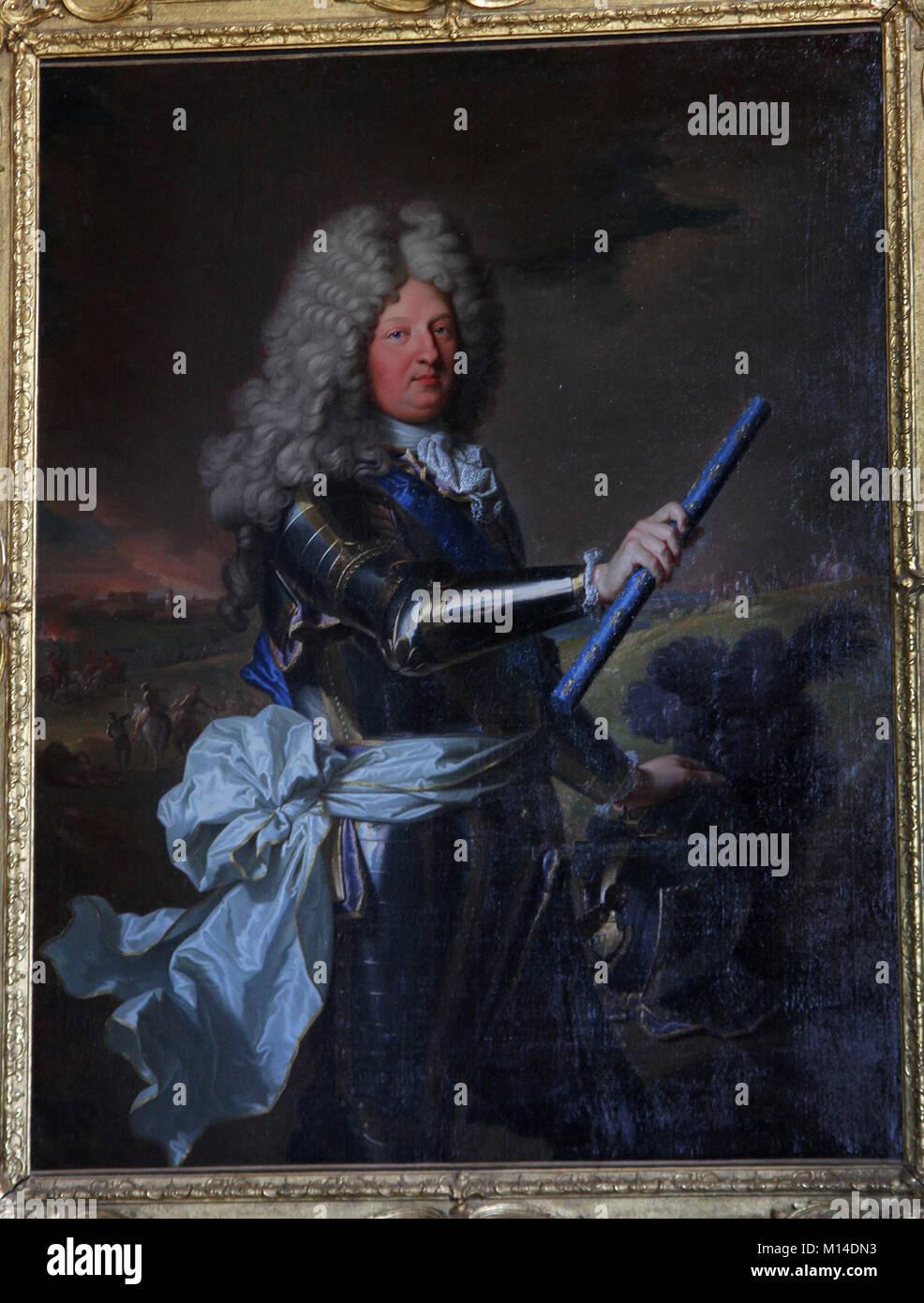 1b3649174c1 Canvas portrait of Hyacinthe Rigaud