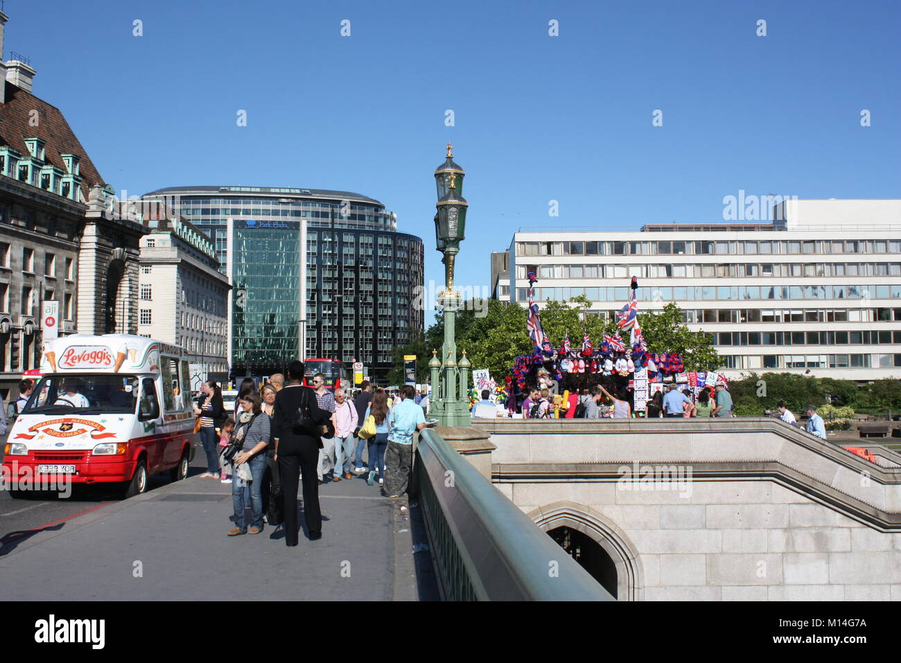 People in London city Stock Photo