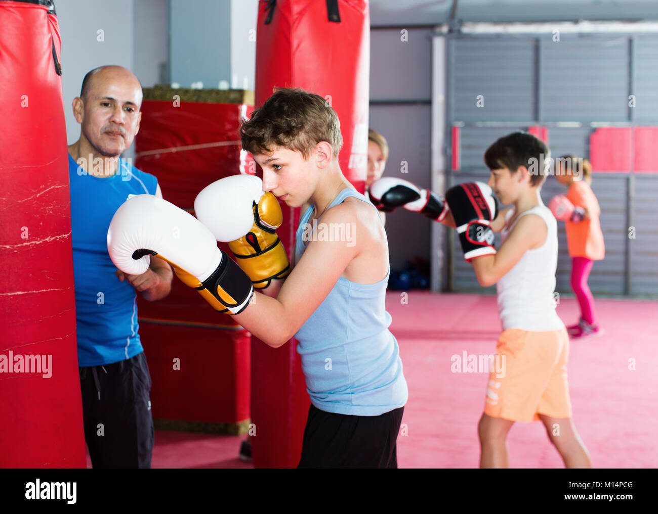Boxing for teenager