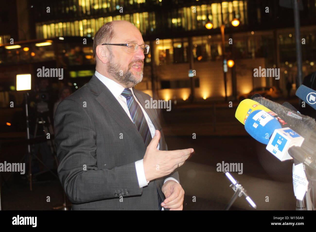 Martin Schulz - Stock Image