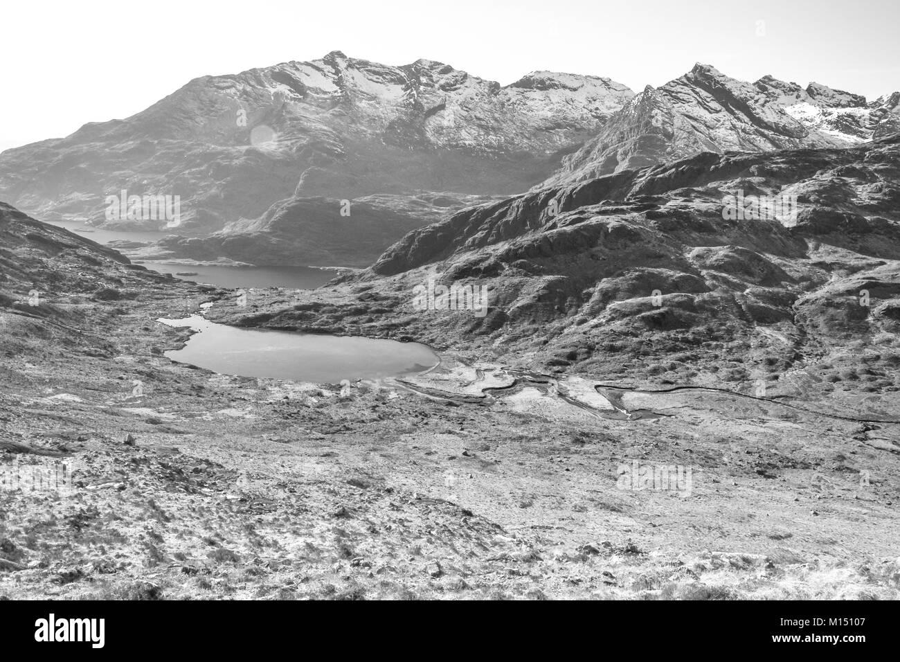 Loch Coruisk - Stock Image