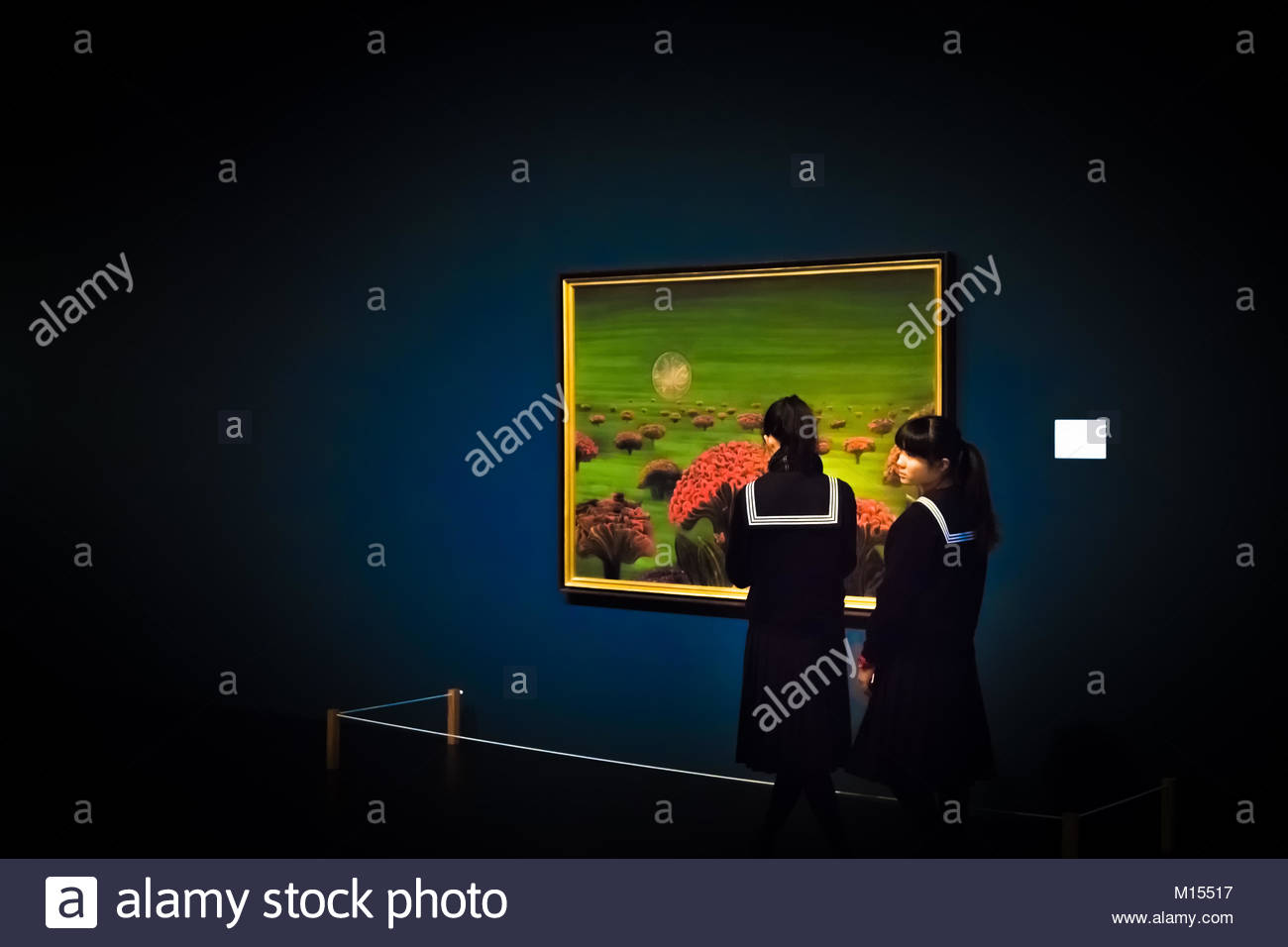 Brief moments in the the national art center of Tokyo - Stock Image